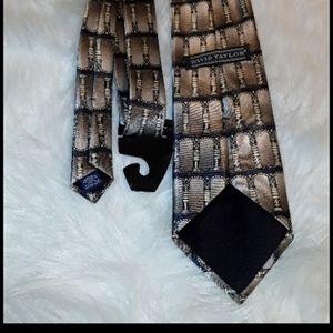 David Taylor's ties